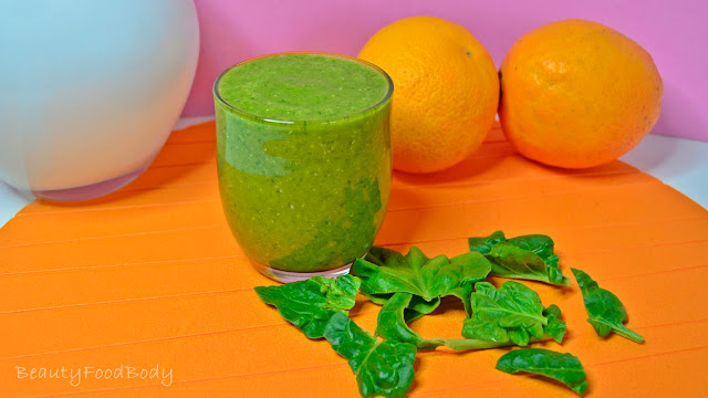 receta smoothie batido verde saciante hierro anemia