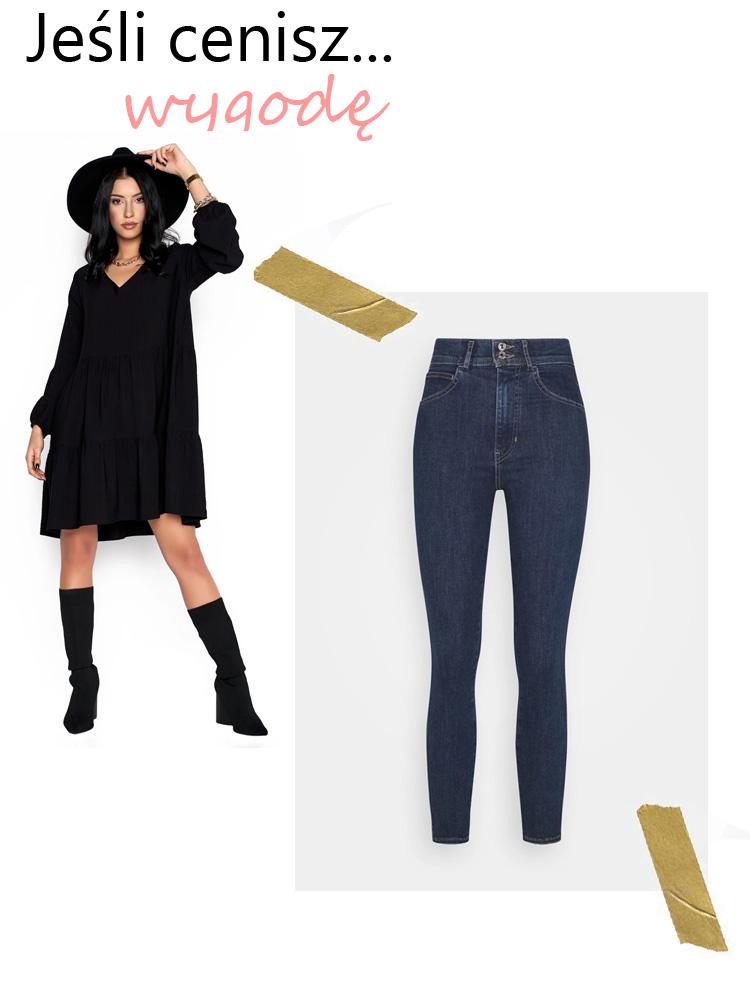 okazje black friday sukienka jeansy