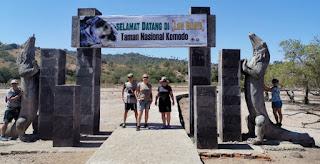 Isla de Rinca o Rinca Island, Parque Nacional de Komodo. Indonesia.