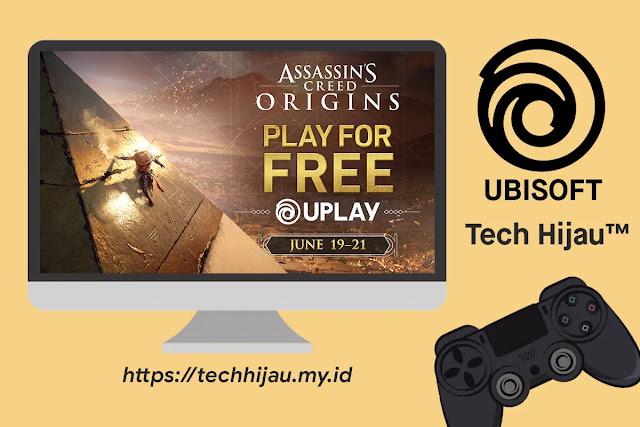 Game Assassin's Creed Origins Gratis di Ubisoft Store Uplay