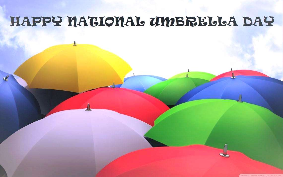 National Umbrella Day Wishes Unique Image
