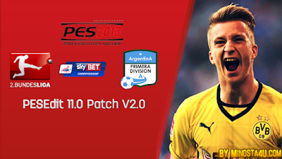 PES 2013 PESEdit Patch 11.0