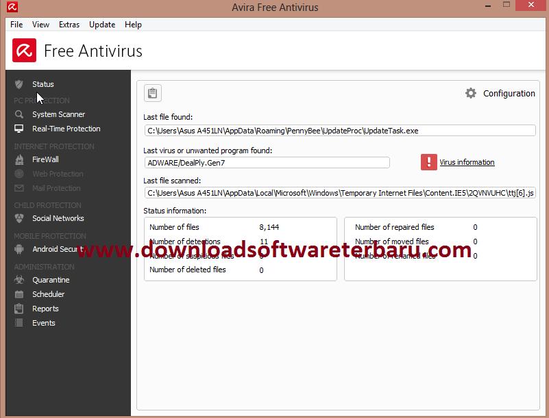 Download antivirus avira 2015 terbaru gratis.