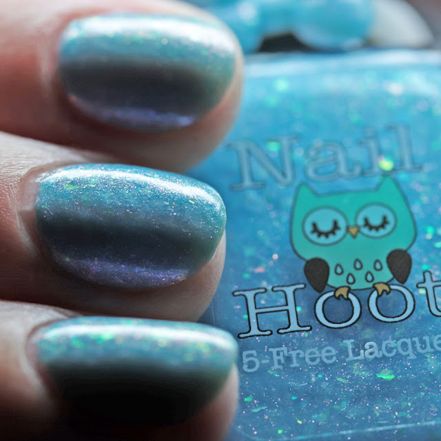 Nail Hoot Indie Lacquers Vitamin Sea