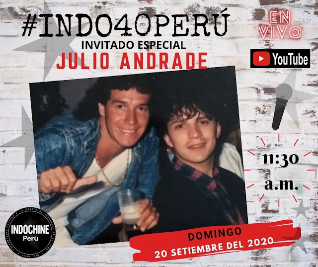 #INDO40PERU - Entrevista a Julio Andrade