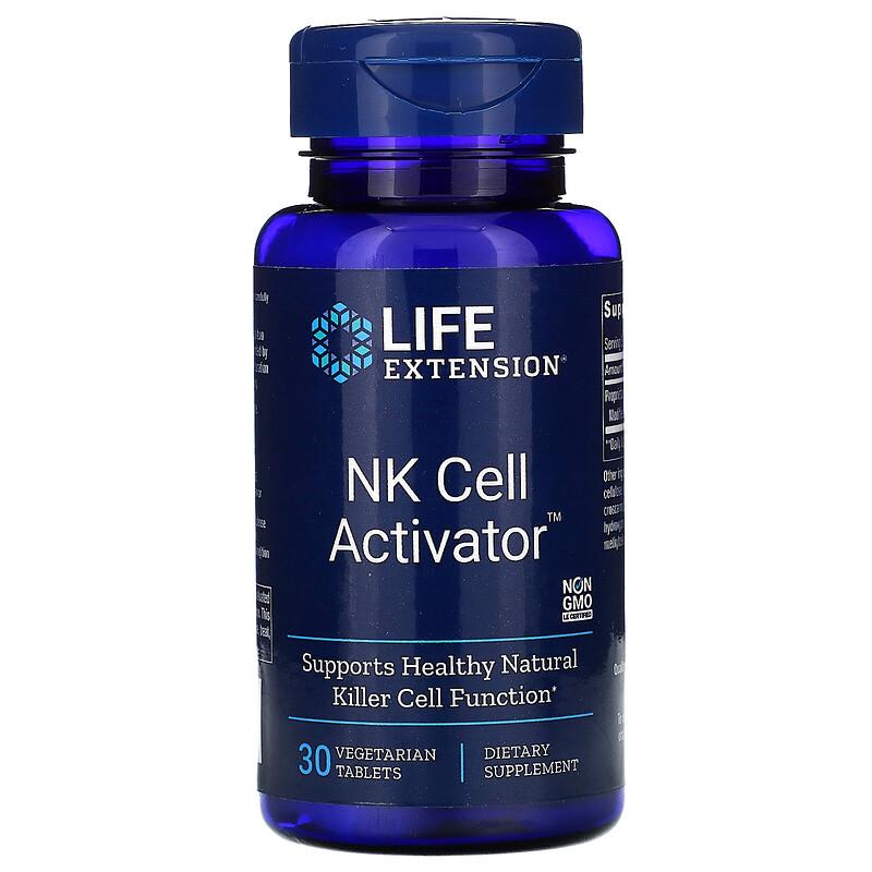 Life Extension, NK Cell Activator, 30 растительных таблеток