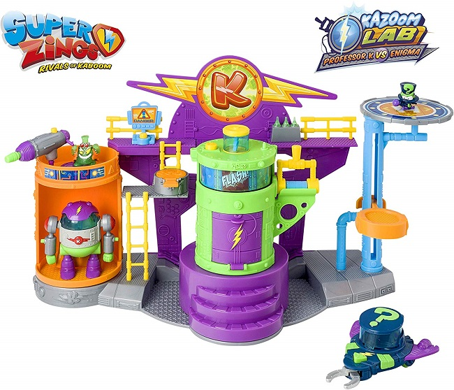 Superzings - Kazoom Lab Battle