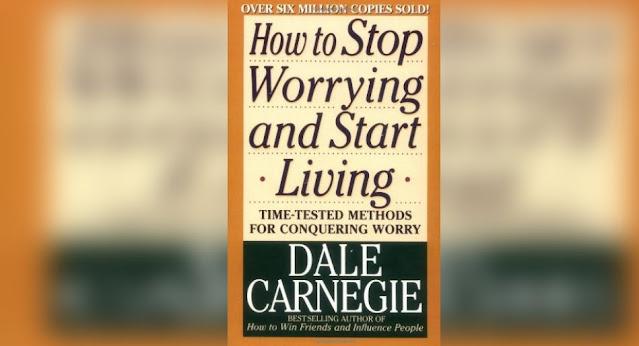 ملخص كتاب دع القلق وابدأ الحياة