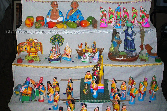 Navarathri Bommai Golu Bommala Koluvu
