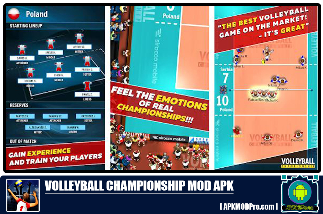 Download Volleyball Championship MOD APK