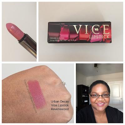 Urban Decay Vice Lipstick swatch