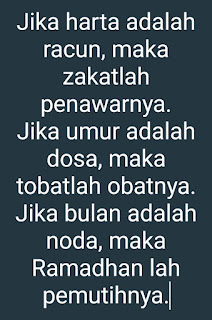 Kata kata menyambut Ramadhan meneduhkan hati