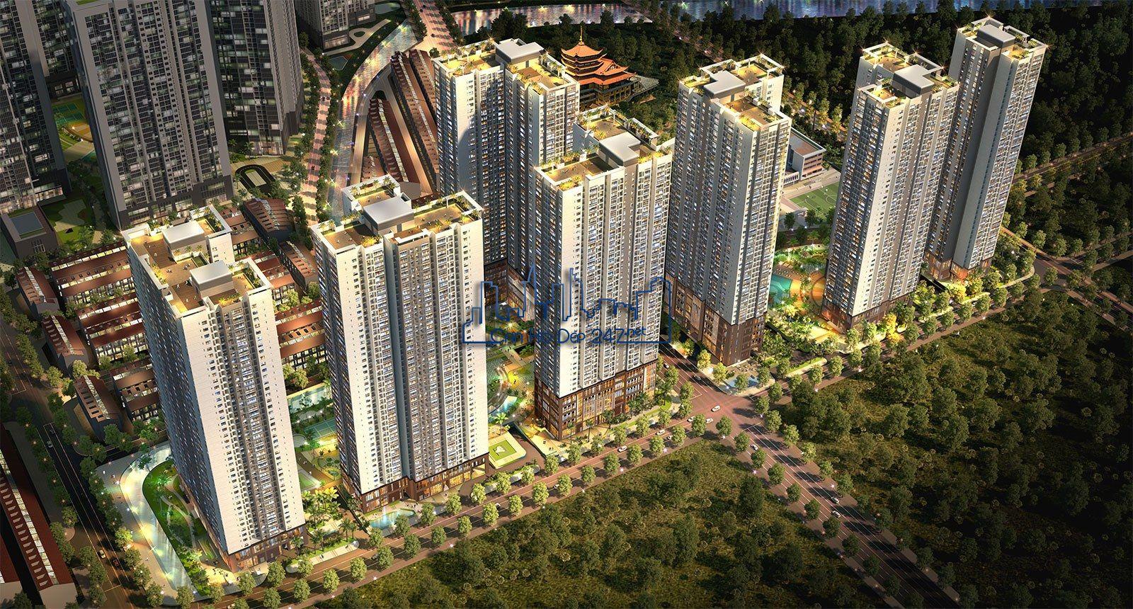 Phối cảnh dự án An Phú An Khánh - Căn hộ Raemian City Quận 2