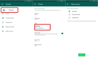 How to Hide Stories on WhatsApp Services