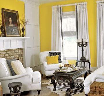 5 Warna Gorden yang Cocok untuk Dinding Kuning, Lihat Yuk!