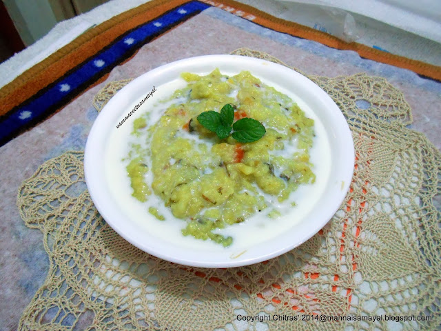 Kuthiraivaali Venthaya Kanji  [ Barnyard millet Fenugreek Gruel ]