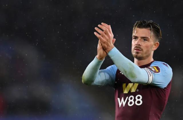 Aston Villa captain Jack Grealish