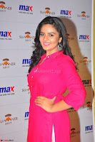 Sree Mukhi in Pink Kurti looks beautiful at Meet and Greet Session at Max Store (44).JPG