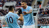 Video Gol Newcastle United vs Manchester City 1-1