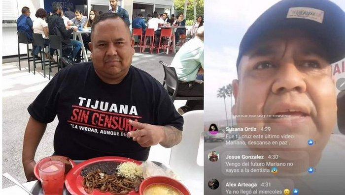 "Asesinan a periodista ciudadano Mariano Soto, creador de ""Tijuana sin Censura"""