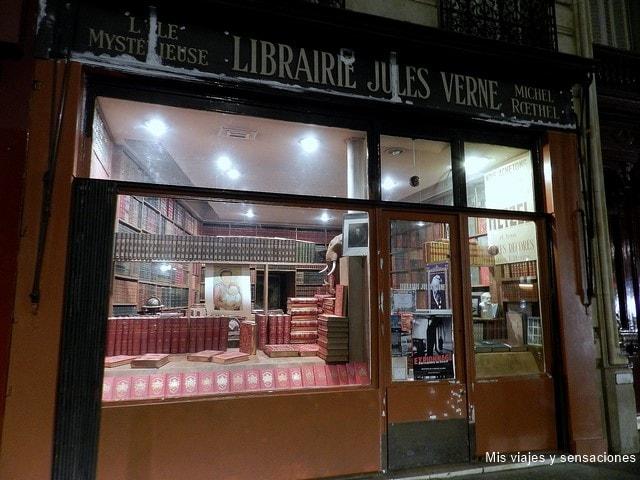 Librería Julio Verne en París