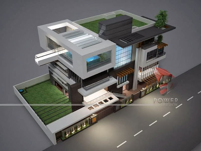Modular Of  Contemporary Bungalow