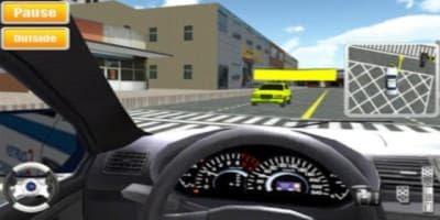 تحميل لعبة تعليم قيادة السيارات للآيبود   ipod driving school 3D