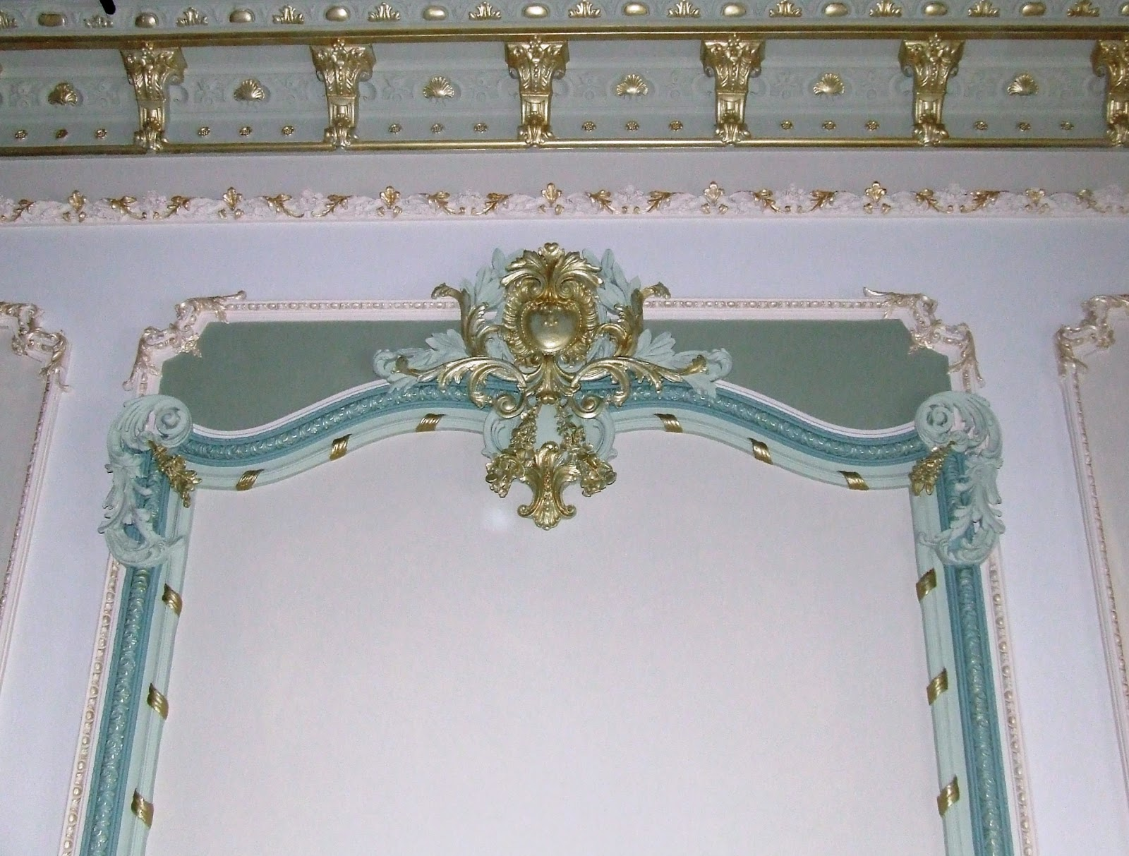 Mansions Of The Gilded Age Artistic Painter Of Decorative