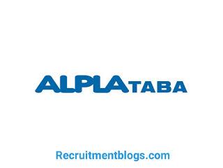 Lab Supervisor At ALPLA TABA for Plastics S.A.E.