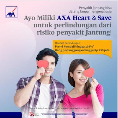 kelebihan asuransi axa heart save