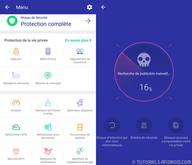 Antivirus CleanMaster Security Android