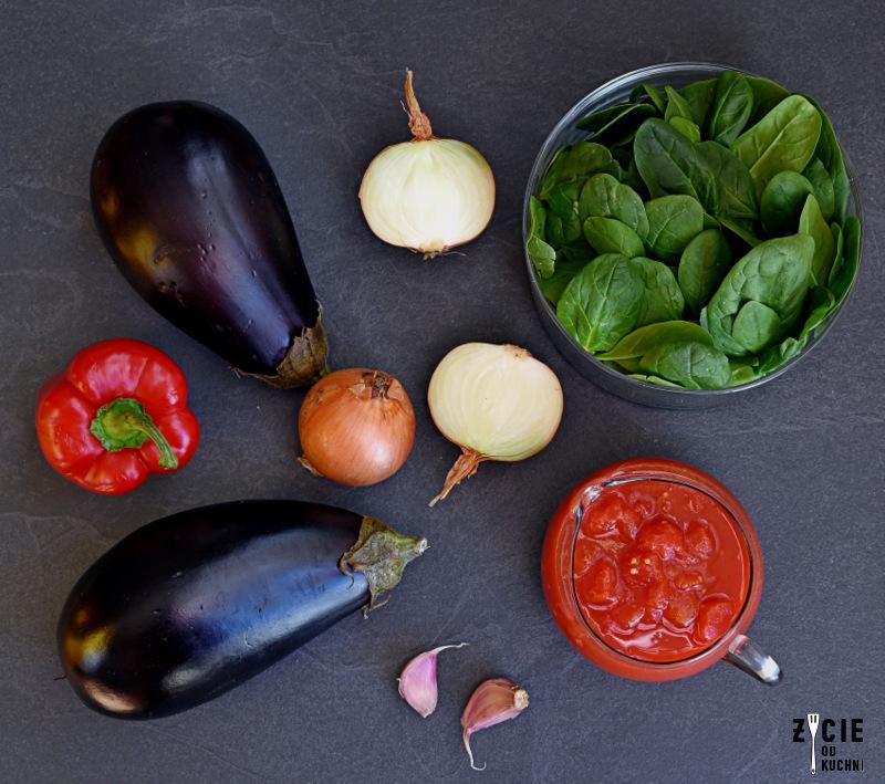 faszerowany baklazan, baklazan, baklazan przepisy, warzywa faszerowane