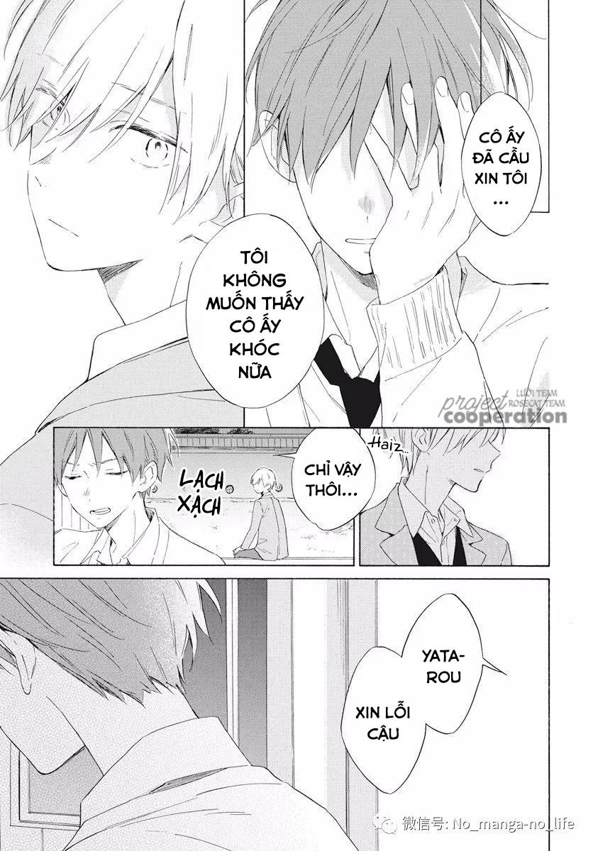 Kimi wa Haru ni Me wo Samasu chap 16 - Trang 16