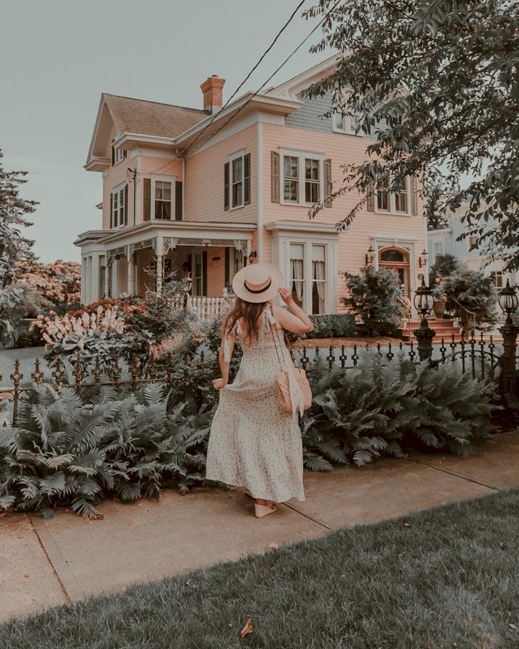 Houses in Greenport, Long Island