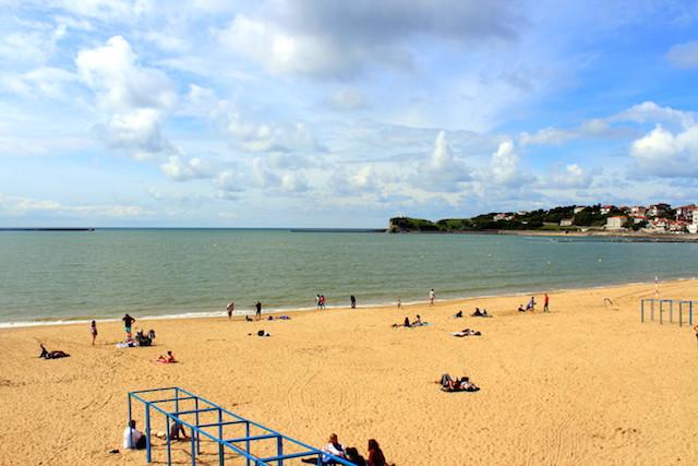 Beach in Saint-Jean de Luz, France