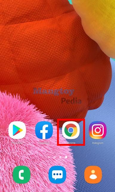 Buka Google Chrome Android