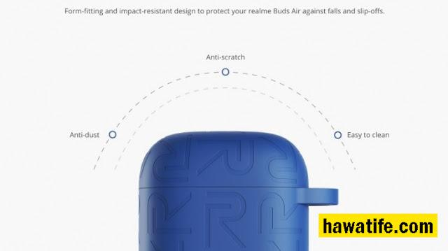 شركة ريلمي Realme  تكشف تطرح Buds Air Cover Cover للبيع في 28 يناير