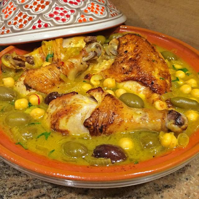 الطاجين المغربي باللحم