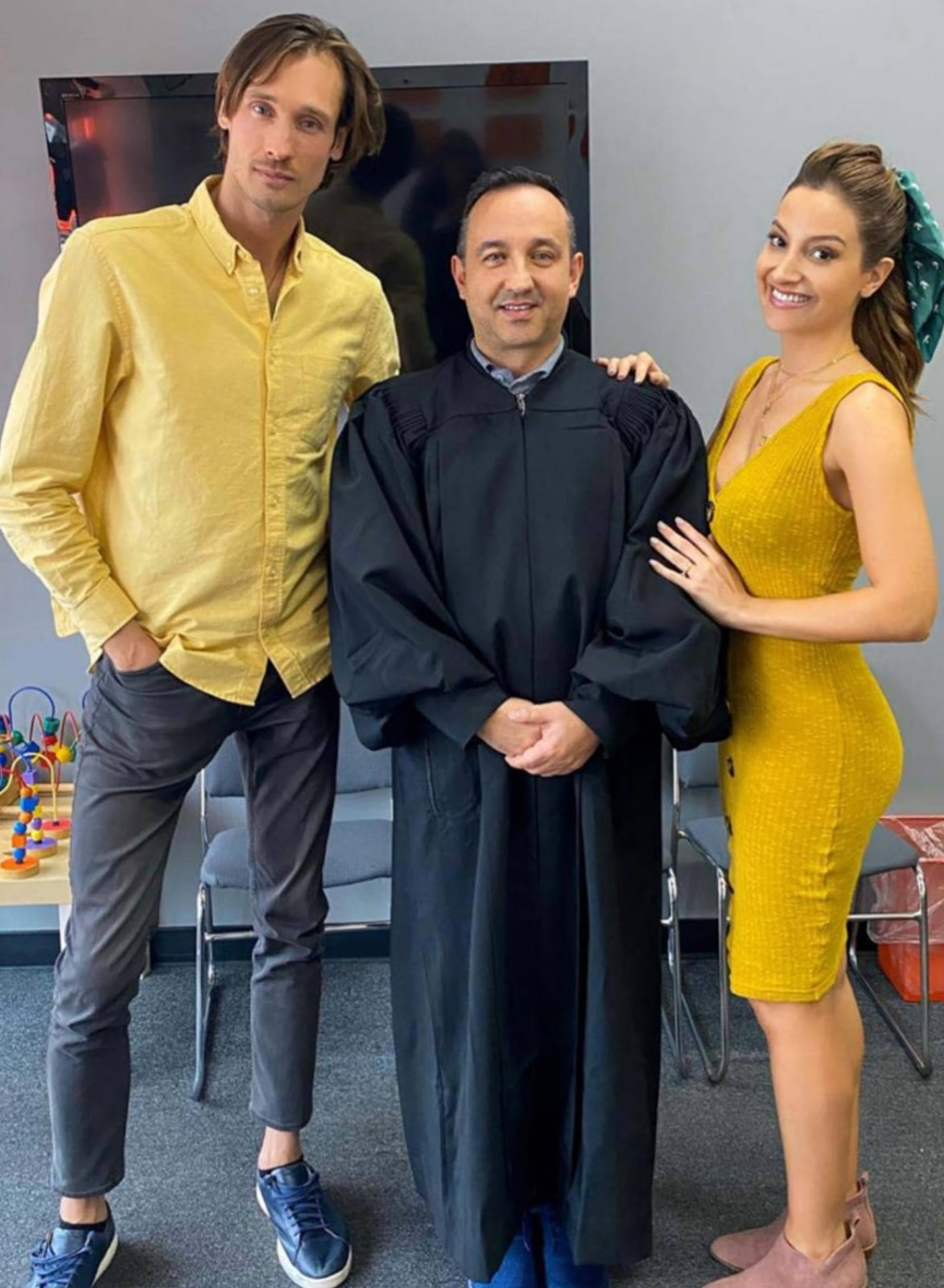 La actriz Daniela Palavecino cumplió un mes de casada en EE.UU