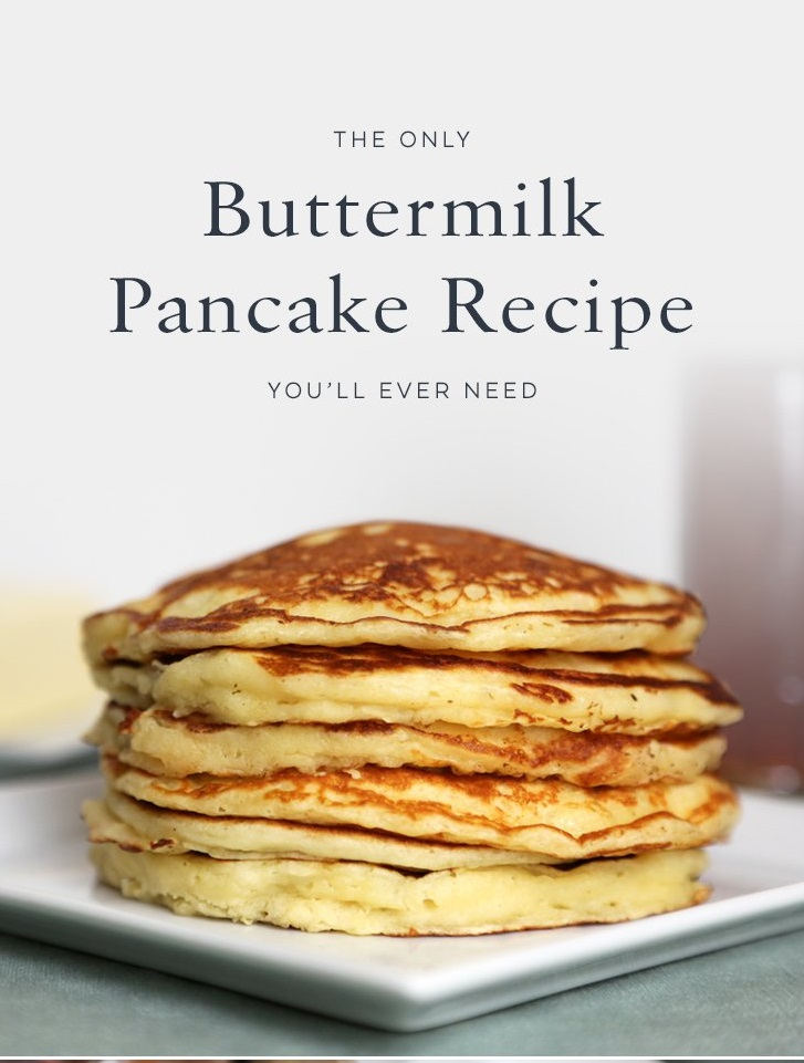 The Only Buttermilk Pancake Recipe You will Ever Need | DELICIOUSE ...