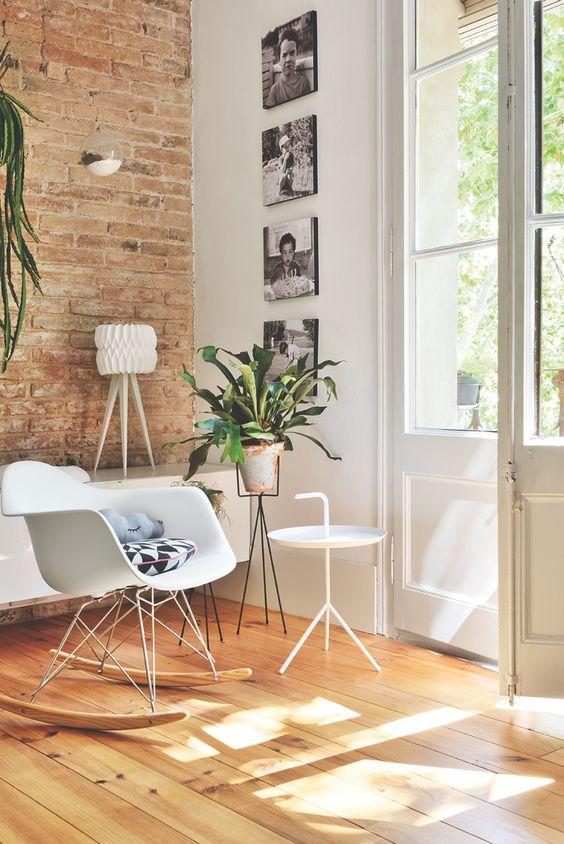 cadeiras Eiffel na decoração da sala