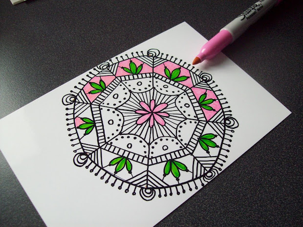 Journal Illustrations And Musings Sharpie Doodle - Art