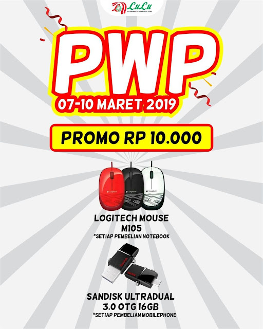#LuluStore - #Promo PWP Mouse & Scandisk Hanya 10Ribu (s.d 10 Maret 2019)
