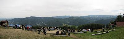 Panorama ze Stokłosicy.