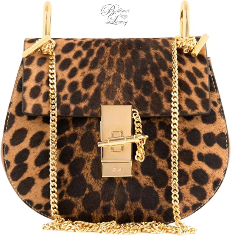 Brilliant Luxury ♦ Chloé Drew Leopard Bag