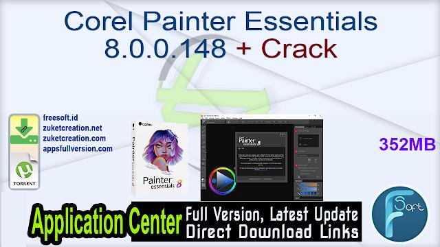 Corel Painter Essentials 8.0.0.148 + Crack