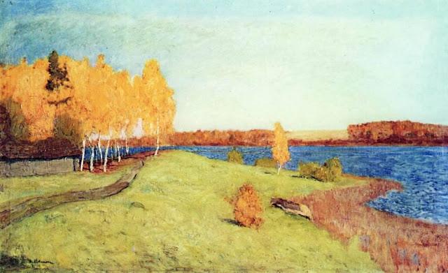Исаак Ильич Левитан - Золотая осень. 1896