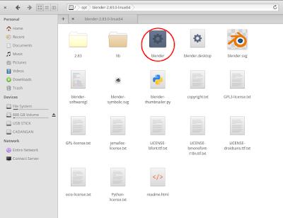 membuat shortcuts aplikasi di linux elementary os