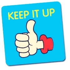 Keep it up | keep it up meaning