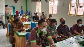 Bersama Babinsa UPTD Puskesmas Kelurahan Sukabumi Bersinergi Satukan Visi Lintas Sektor